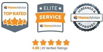 HomeAdvisor Badges